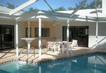 Image: Florida Gulf Coast of Mexico Holiday Villa Heated Pool Private Beach & Tennis